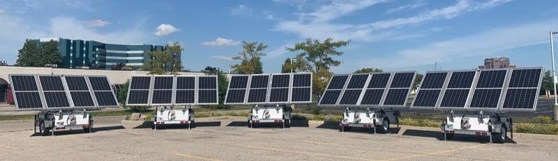 MBS Spark Solar trailers
